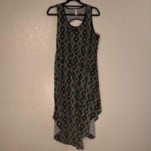 Sleeveless Geometric Dress